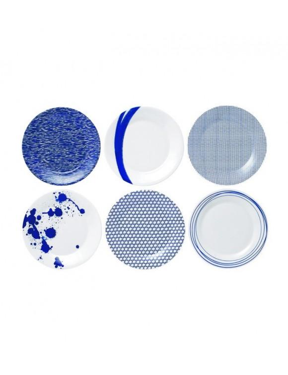 Набор тарелок Pacific 23 см, 6 шт