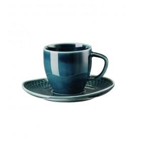 Блюдце для чашки эспрессо Junto Ocean Blue 11 см