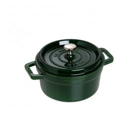 Кокот круглый 24 см/3,8 л, зеленый базилик