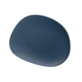 Тарелка салатная Organic Turquoise 21 см