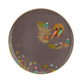 Тарелка десертная Chelsea 20 см, коричневая