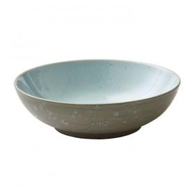 Салатник Bitz 24 см, серый/голубой