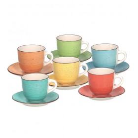 Набор чайный Louise Art Pepper, 12 предметов