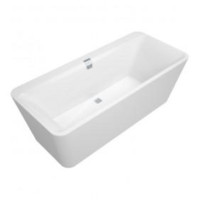 Ванна с панелью отдельностоящая Squaro Edge 12 UBQ180SQE7PDV-01