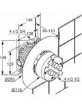 Внутренняя часть смесителя FlexxBoxx 88011