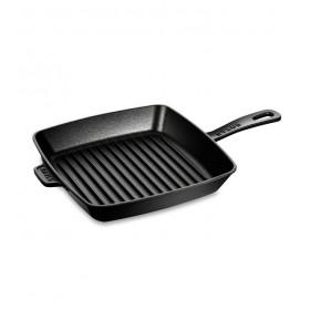 Сковорода-гриль с двумя ручками Grills 30 см, цвет черный