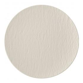 Тарелка столовая Manufacture Rock 25 см, цвет белый