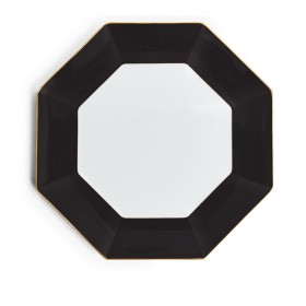 Тарелка сервировочная Arris 33 см, чёрная