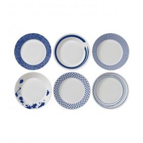 Набор тарелок для пасты Pacific 22 см, 6 шт