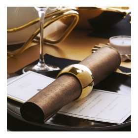 Кольцо для салфеток Sphera, цвет золото