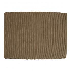 Салфетка под тарелку Breeze 35x50 см, цвет коричневый