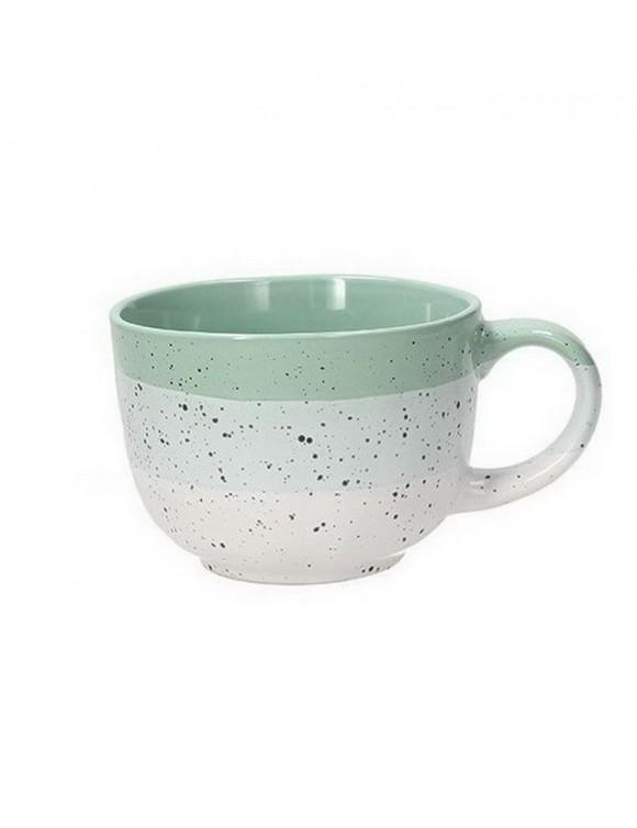Чашка для завтрака Louise Layers 450 мл, цвет зеленый