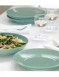 Набор посуды Gordon Ramsay Maze Teal & Dark Grey 12  предметов