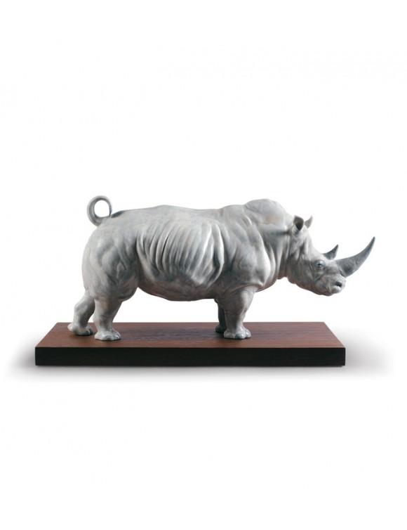 """Фигурка """"Белый носорог"""" 10х20х7,5 см"""