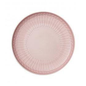 Тарелка салатная Blossom 24 см, цвет розовый