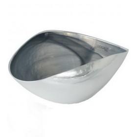 Чаша Alabastro 35х20 см, цвет серый