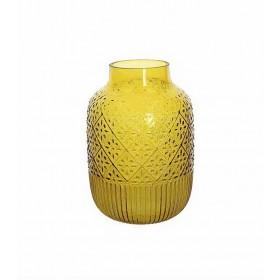Ваза Sirte 20х29 см, цвет - желтый