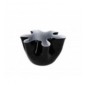 Ваза BIZARRE 23 см., цвет - черный