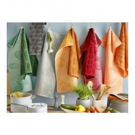 Полотенце кухонное Legumes 50x70 см, цвет оранжевый