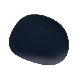 Тарелка салатная Organic Deep Blue 21 см
