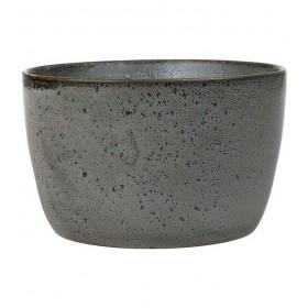 Салатник 20 см, цвет серый
