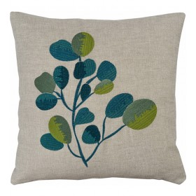 Чехол для подушки декоративной Globulus 40x40см (цвет сине-зеленый)