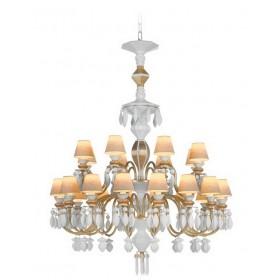Люстра BDN Lladro lluminacion на 24 лампы, цвет - золото