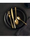 Набор столовых приборов Taste Gold 24 предмета