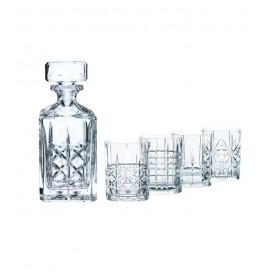Набор для виски Highland (Графин и 4 бокала)
