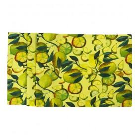 Салфетка под тарелку Limone 35x50см (цвет желтый)