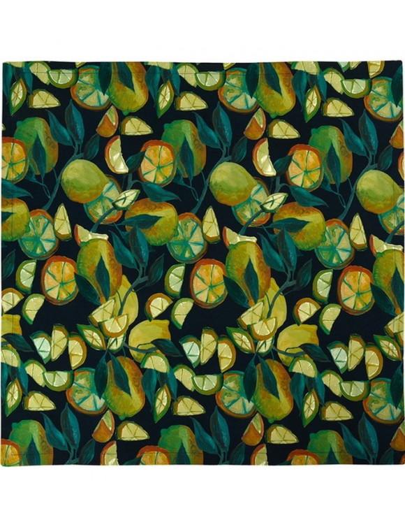 Скатерть-дорожка Limone 50x140см (цвет темно-синий)
