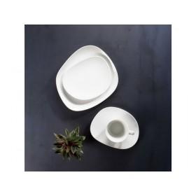 Блюдце для кофейной чашки Organic White 17,5 см